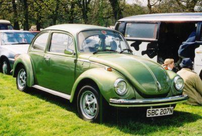 Moss Green Big Beetles (95C) - sbc207n - The VW Beetle Gallery